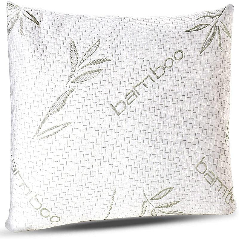 Memory Foam Bamboo Pillow For Good Sleep