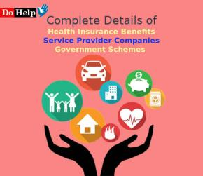 Health Insurance Benefits, Service Provider Companies and Govt Schemes in Details