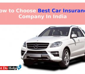 Get Best Car Insurance Company In India from Leading Companies