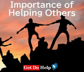 Importance of Helping Others
