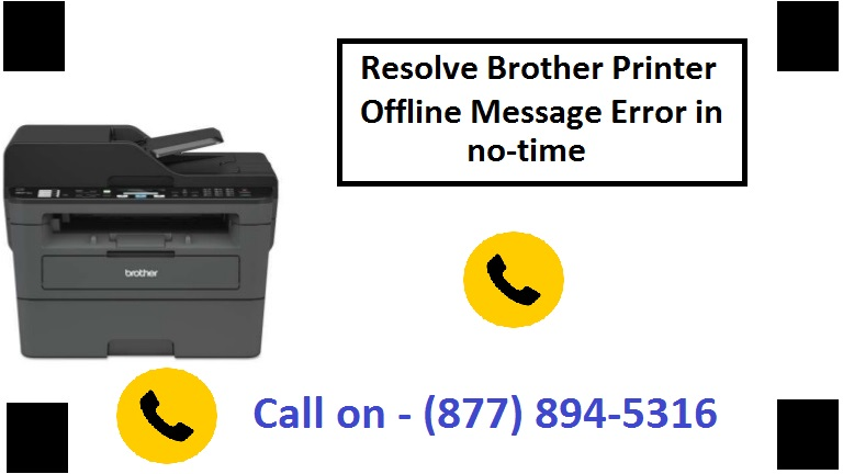 Why my Brother Printer is Offline?