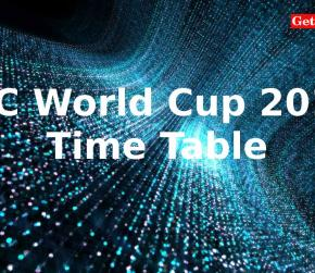 ICC WORLD CUP  2019 Time Table