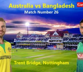 ICC World Cup 2019 - Match 26, Australia vs Bangladesh, Match Prediction and Tips